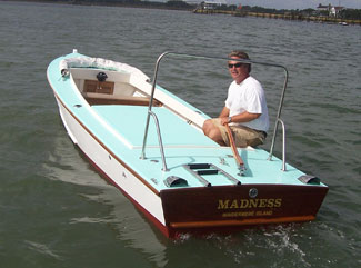 wooden power boat kits for sale